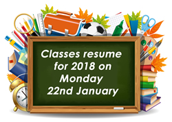 Back to School 22nd January